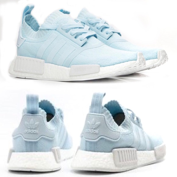 ADIDAS NMD R1 PRIMEKNIT women SNEAKERS in ice blue